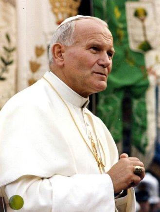 """""""Scanpix"""" nuotr./Popiežius Jonas Paulius II."""