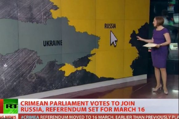 Russia today Krymą prie Rusijos jau prijungė