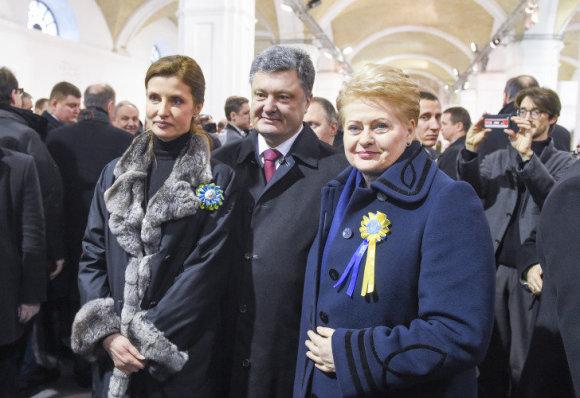 LR Prezidento kanceliarijos/ R.Dačkaus nuotr./Dalia Grybauskaitė Kijeve