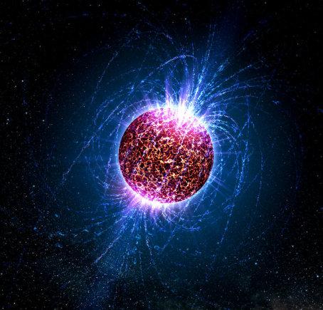 """""""Wikimedia Commons""""/Casey'aus Reedo/Pensilvanijos universiteto iliustr./Neutroninė žvaigždė menininko akimis"""