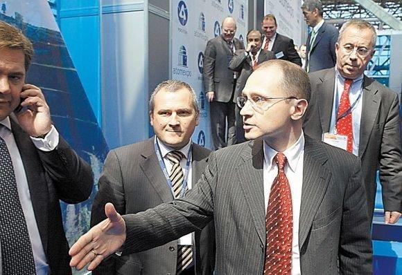 """AFP/""""Scanpix"""" nuotr./Sergejus Kirijenka energingai ieško atominių elektrinių statybos partnerių."""