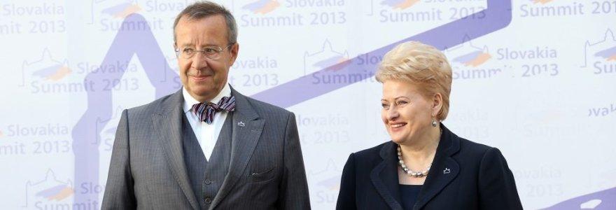 Dėl įvykių Ukrainoje sunerimęs Estijos prezidentas: metas Lietuvai susirūpinti gynyba