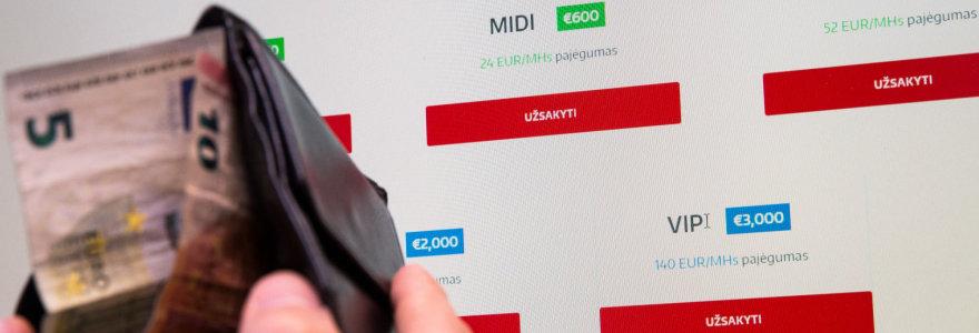 Naujos kriptovaliutų kasyklos siūlo monkės biznį: iškas mažiau nei nupirktum rinkoje