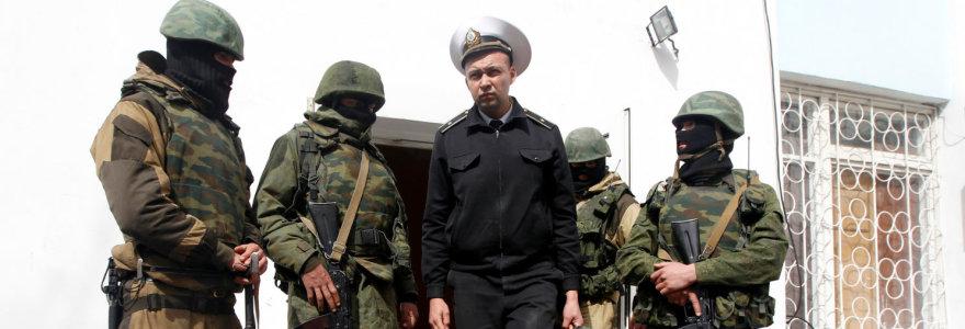 Kodėl ukrainiečiai atidavė Krymą be kovos ir kodėl subruzdo NATO?