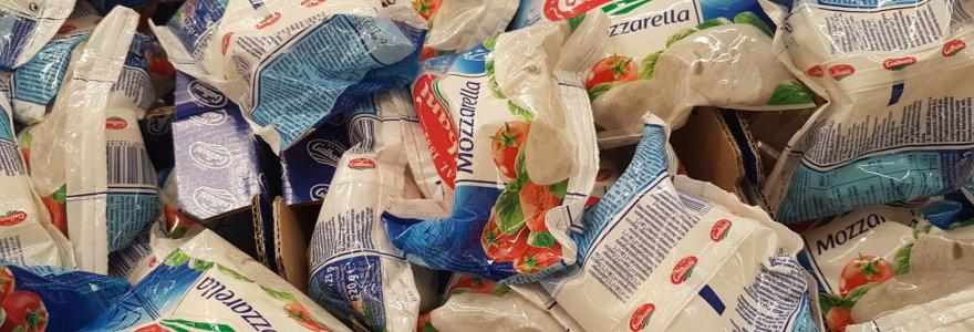 Sūrių skandalas Italijoje: mocarela Nr. 1 slapta gaminama iš lietuviškų pusfabrikačių
