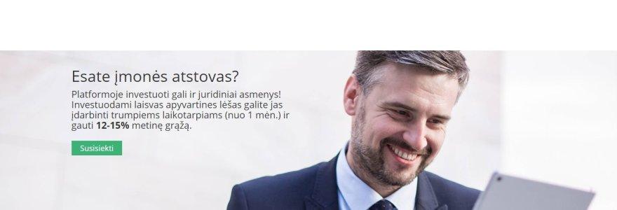 Lietuvos banko neprižiūrima bendrovė siūlo 13 proc. uždarbį: kvailių paieška ar inovatyvus investavimas?
