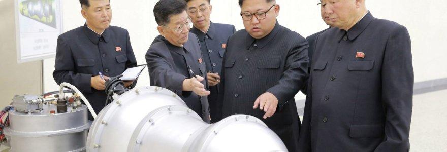 JAV analitikai įspėja: Šiaurės Korėja gali greitai išvystyti biologinį ginklą