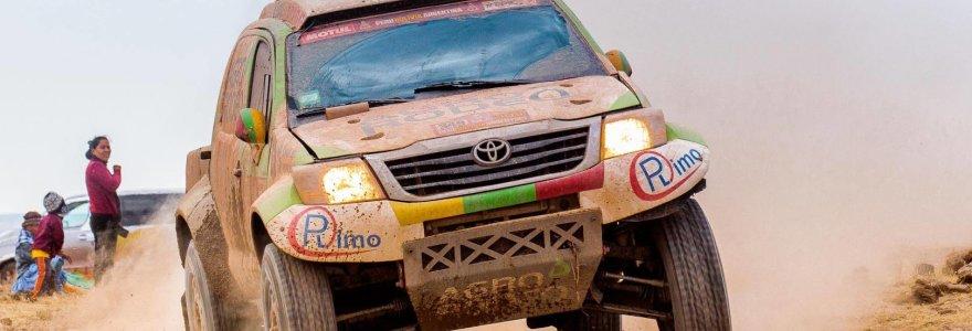 Dakaro ralyje lietuviai ant sparnų – finišavo tarp TOP 20