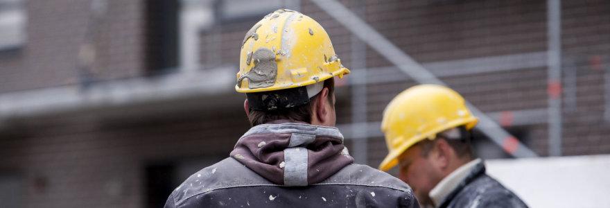 1,4 milijardo eurų slepiasi statybų šešėlyje: siūloma naikinti verslo liudijimus