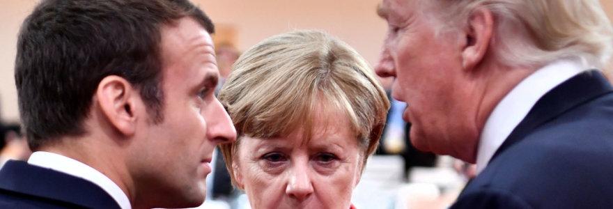 Donaldas Trumpas keliauja į Davosą, bet Davosas jo nebebijo