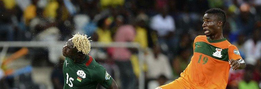 Zambijos rinktinė baigė pasirodymą Afrikos futbolo čempionate