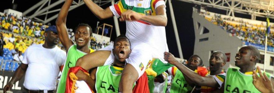 Malis ir Gana – Afrikos Nacijų taurės turnyro pusfinalyje