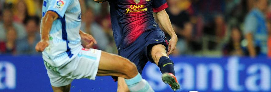 """Po katalonų pergalės praraja tarp """"Barcelona"""" ir """"Real"""" klubų – 11 taškų"""