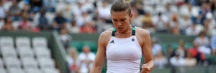 "Simona Halep vis dar negali pamiršti nesėkmės ""French Open"" finale"