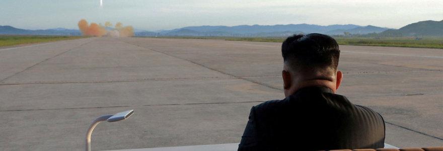 Optimizmą dėl Pchenjano pažadų įšaldyti branduolinę programą temdo paslaptingas pastatas