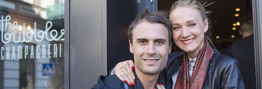 Dainininkas Mantas Jankavičius su žmona Ieva laukiasi trečio vaiko