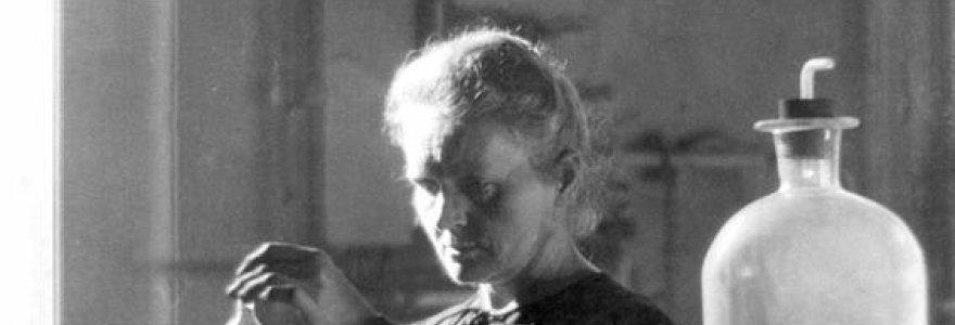Dvi Nobelio premijas gavusios Marie Curie daiktai bus radioaktyvūs dar 1,5 tūkst. metų