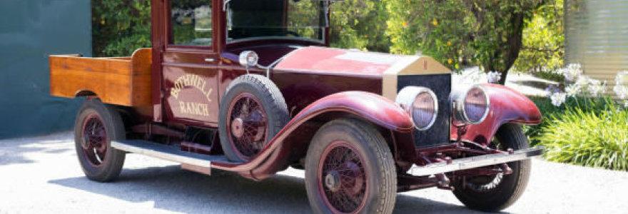 """Vienintelis toks pasaulyje: parduodamas """"Rolls-Royce"""" pikapas"""