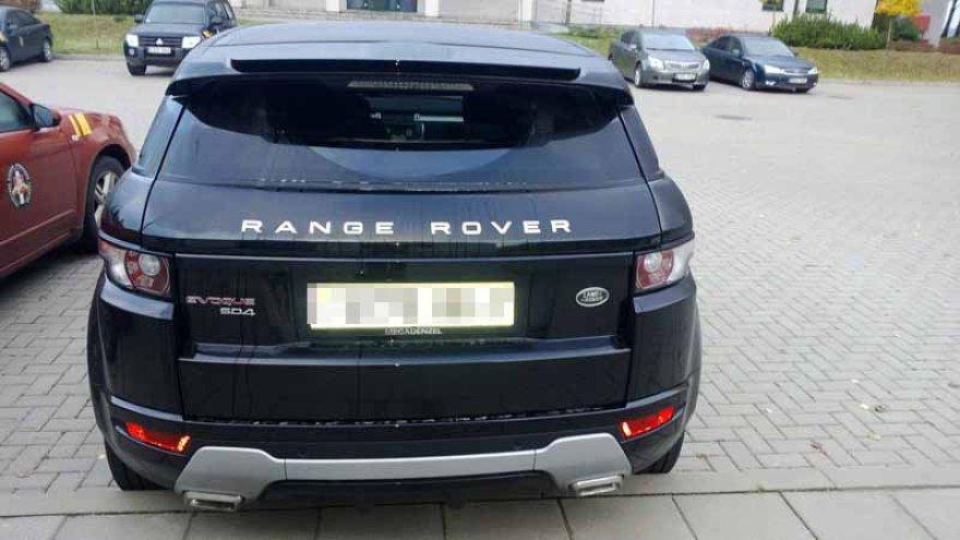 "Vogtas ""Range Rover"" visureigis"