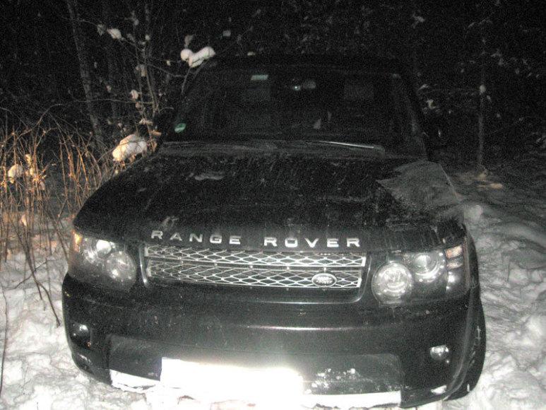 """Range Rover Sport"" automobilis"