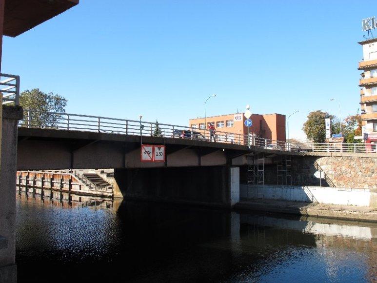 Dar šiemet prasidės Pilies tilto remonto darbai.