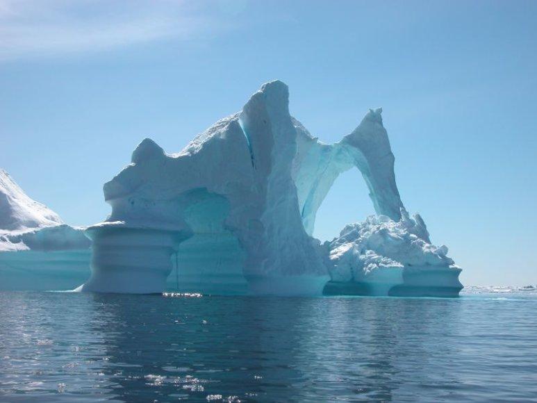 Gamtos šedevrai - aisbergai