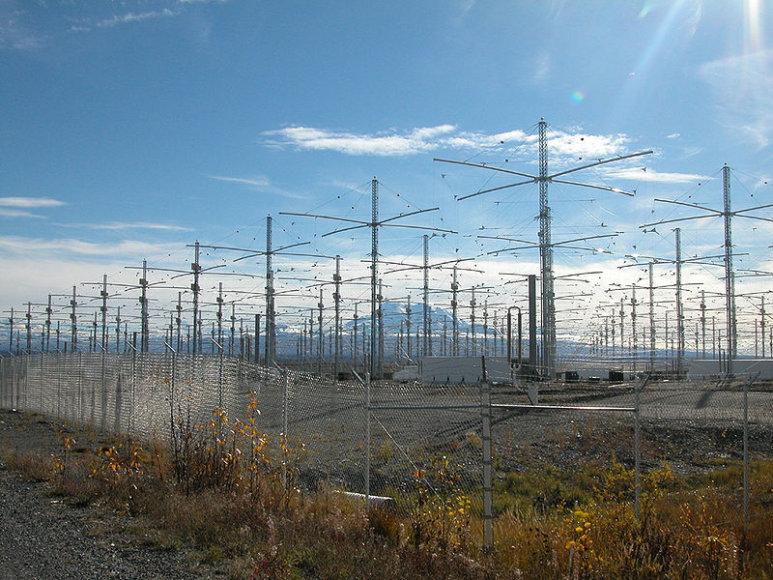 Paslaptingas įrenginys HAARP (High Frequency Active Auroral Research Program) jau šią vasarą gali būti uždarytas