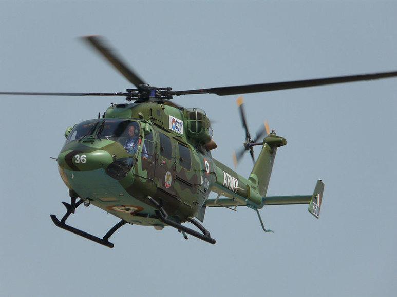Indijos karinių pajėgų sraigtasparnis