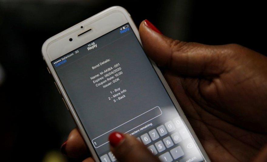 Kenija parduoda mobiliąsias vyriausybės obligacijas