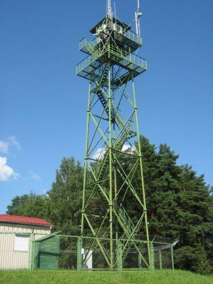 Pagėgių rinktinės Plaškių užkardos ruože, Pagėgių savivaldybėje, įrengta moderni visą parą dirbanti sienos stebėjimo sistema.
