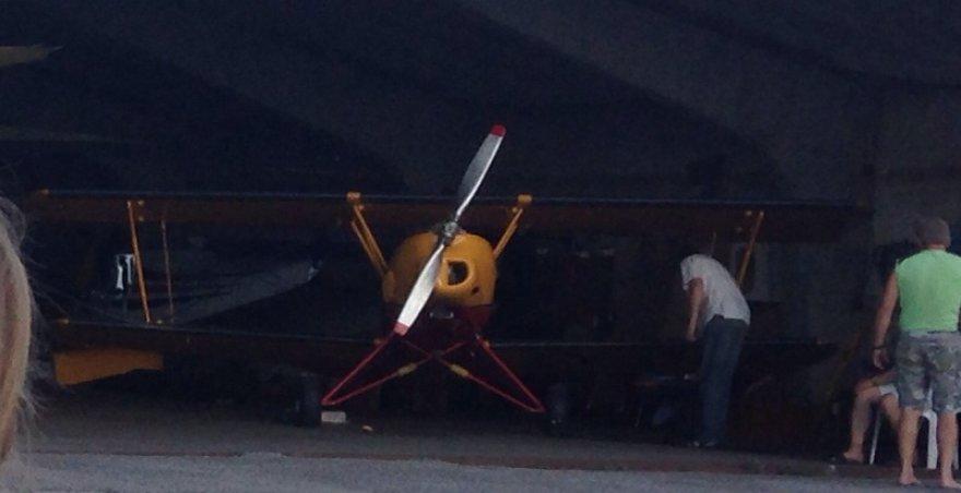 Utenoje nukrito toks lėktuvas