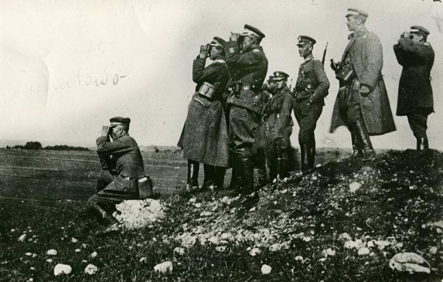 Lenkijos kariuomenė, 1921 m.