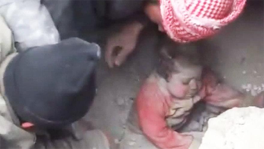 Kūdikis Sirijoje