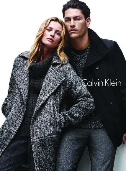"""Edita Vilkevičiūtė ir Tysonas Ballou """"Calvin Klein"""" reklamoje"""