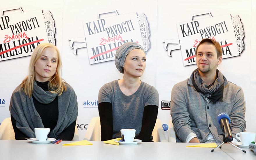 Inga Jankauskaitė, Rimantė Valiukaitė ir Donatas Ulvydas