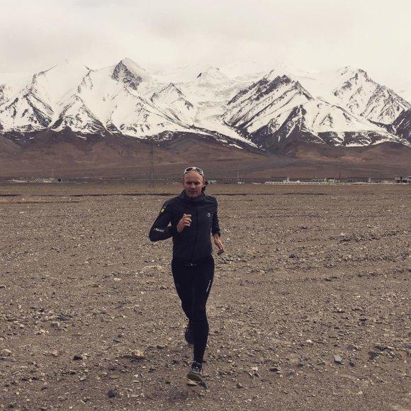 Gediminas Grinius kalnuose Tibete