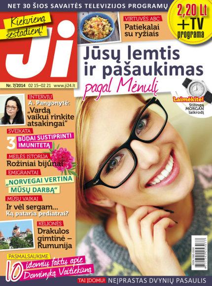 """Žurnalo \""""Ji\"""" archyvo nuotr. / 2014 m. / Nr. 7"""
