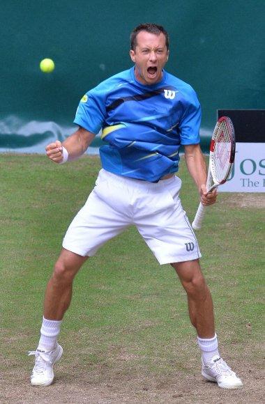 Philippas Kohlschreiberis turnyro Halėje čempionu tapo 2011 metais