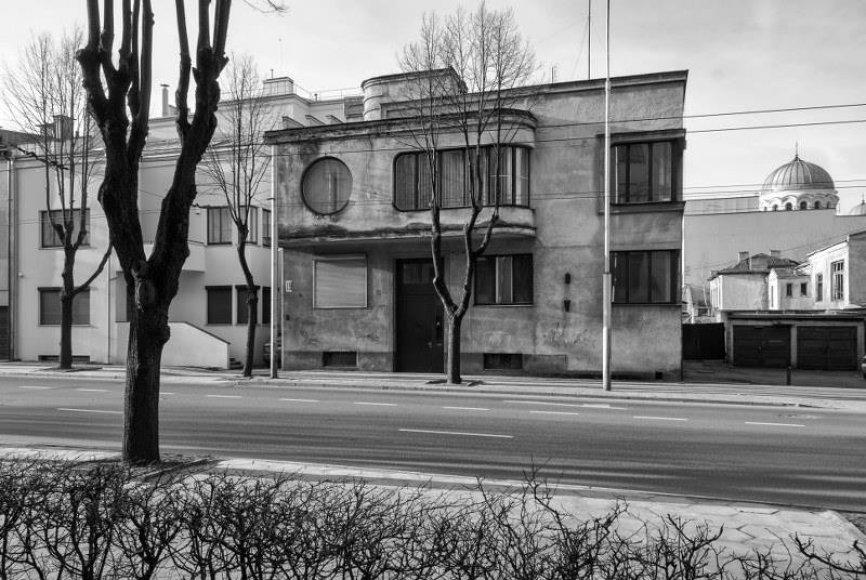 Aleksandros Iljenienės namas, architektas Aleksandas Funkas 1933 m.