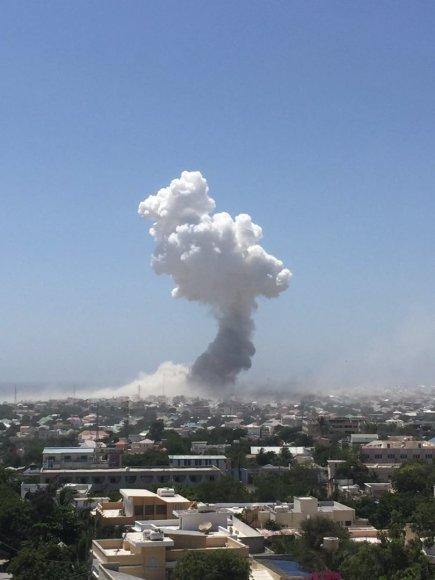 Sprogimas Somalyje