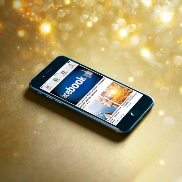 """Portalas 15min.lt savo """"Facebook"""" draugams dovanoja naująjį telefoną """"iPhone 6""""!"""