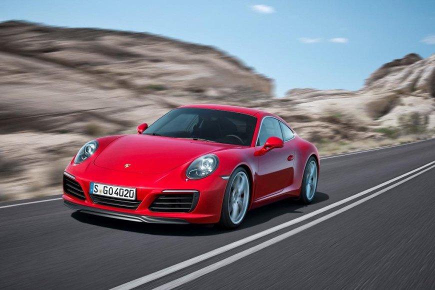 "Atnaujintas ""Porsche 911 Carrera"""