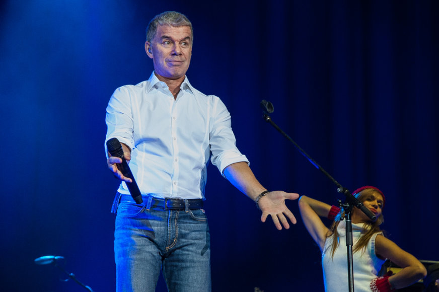Olego Gazmanovo koncertas