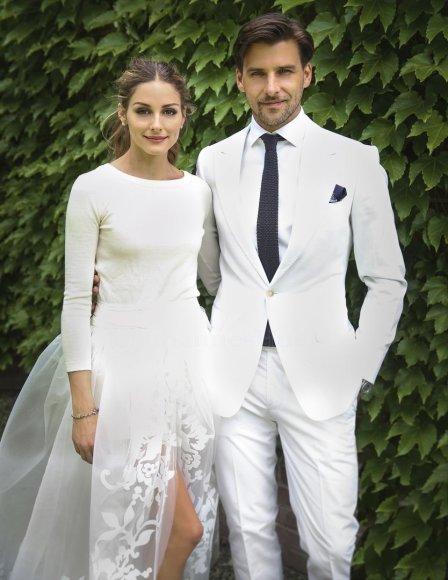 Olivia Palermo ir Johannesas Hueblas