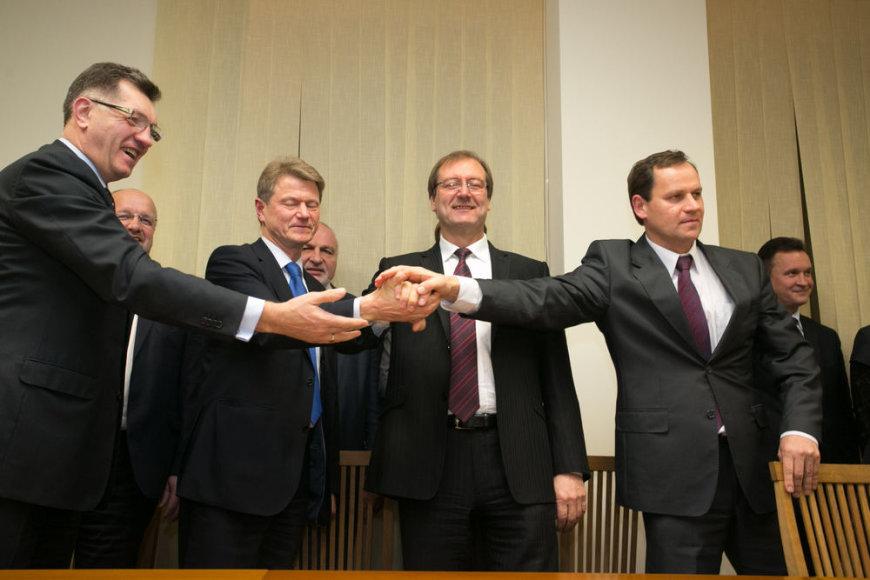 Koalicija 2012 metų lapkritį