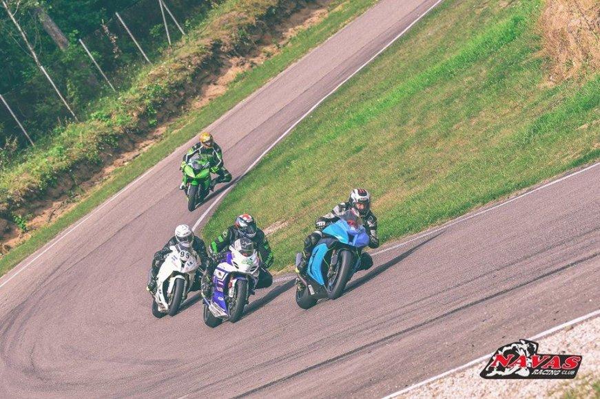 Nuotrauka iš Lietuvos ir Latvijos čempionatų etapo Kačerginėje