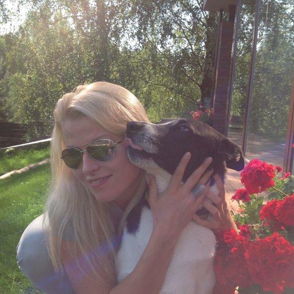 Rūta Mikelkevičiūtė su Atu