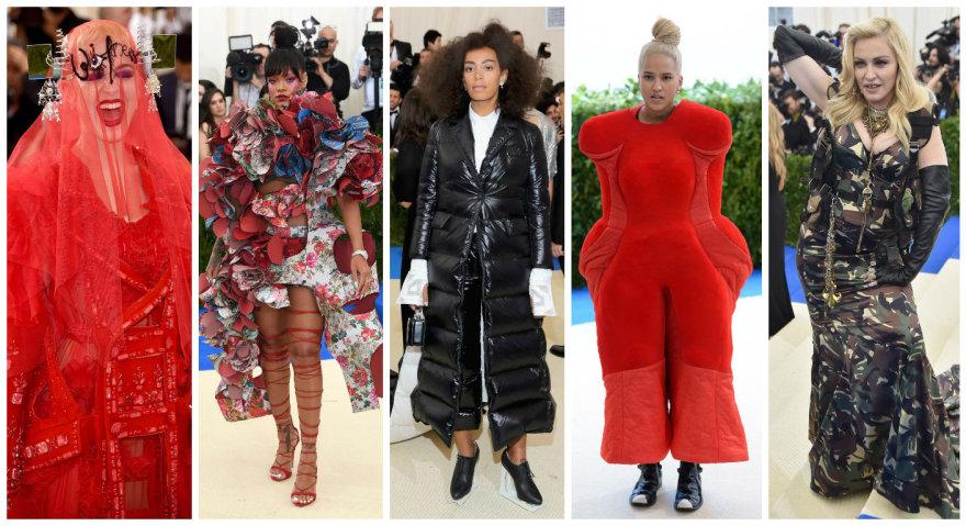 Katy Perry, Rihanna, Solange Knowles, Helen Lasichanh ir Madonna