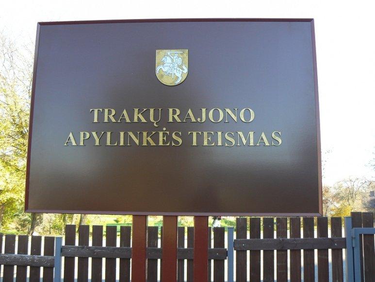 Trakų rajono apylinkės teismas