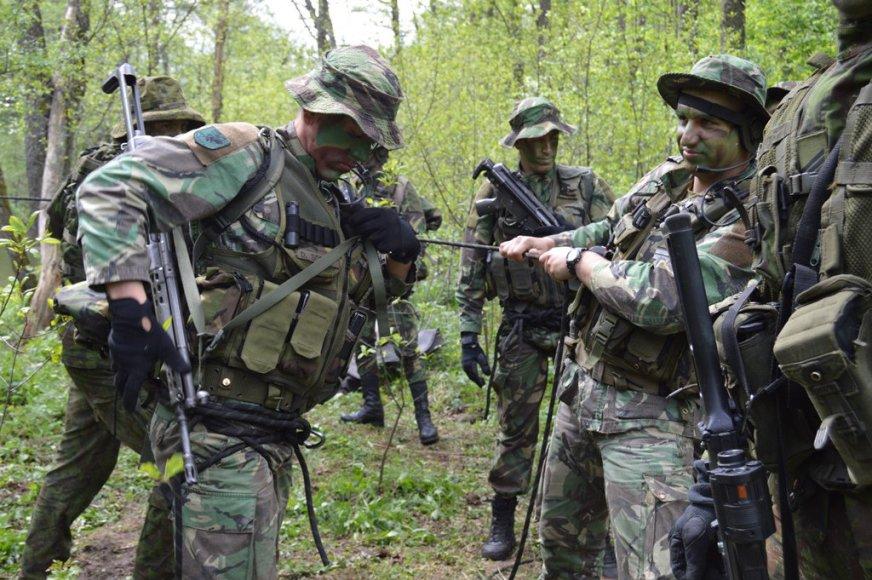 Portugalijos žvalgybos kuopos kariai
